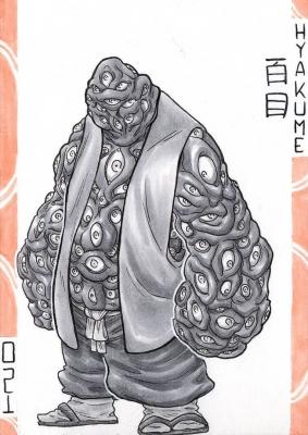 Хякумэ. Иллюстрация Лукаса Перейры