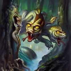 """Hydra"". Картина Бориса Валледжо (Boris Vallejo)"