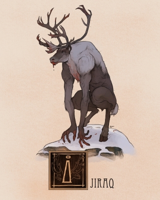 "Иджирак. Иллюстрация Натана Андерсона (Nathan J. Anderson, ""Deimos-Remus"")"