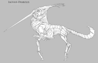 Дьявольский якул. Иллюстрация Кейт Пфейлшефтер