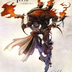 Ифрит. Концепт-арт к игре Final Fantasy XIII
