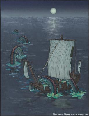 Икути. Иллюстрация Мэтью Мэйера