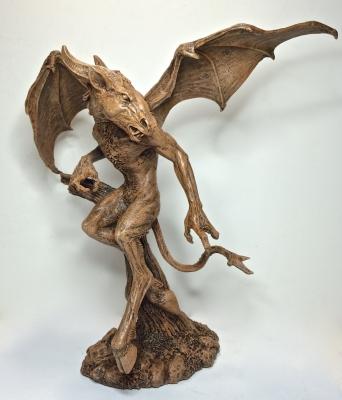 "Джерсийский дьявол. Скульптура Майкла Локастио, ""Dellamorte & Co."""