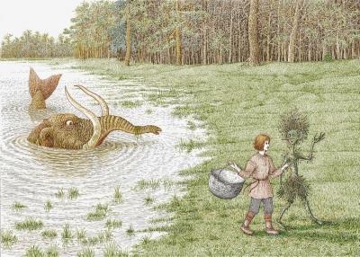 Вэс. Иллюстрация Валерия Слаука