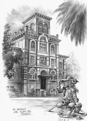 Бусгосу. Иллюстрация Исидре Монеса