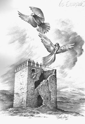 Энкантадас. Иллюстрация Исидре Монеса