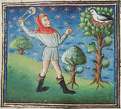 Киннамолг из рукописи Национальной Нидерландской библиотеки (Hague, MMW, 10 B 25, Folio 31v)