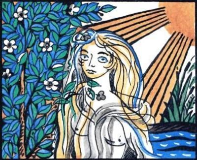 Гржета. Иллюстрация Георгия Клодта к одноименной албанской сказке