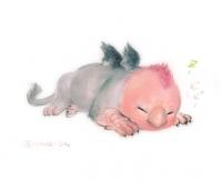 Детеныш грифона. Иллюстрация Jonose1213
