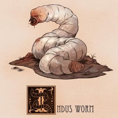 "Скулекс (индский червь). Иллюстрация Натана Андерсона (Nathan J. Anderson, ""Deimos-Remus"")"