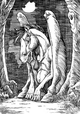 Тикбаланг. Иллюстрация Ричарда Свенссона