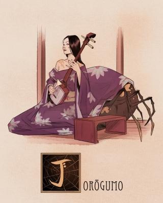 """Дзёро-гумо. Иллюстрация Натана Андерсона (Nathan J. Anderson, """"Deimos-Remus"""")"""