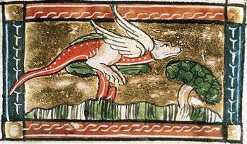 Якул. Иллюстрация из фландрской рукописи