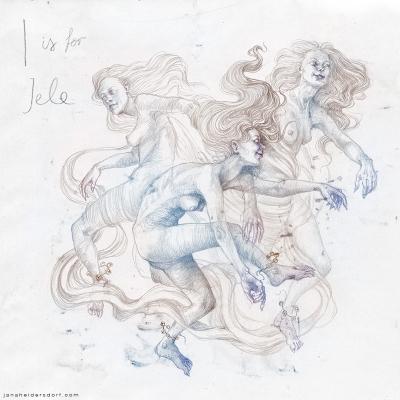 Иеле. Рисунок Яны Хейдерсдорф