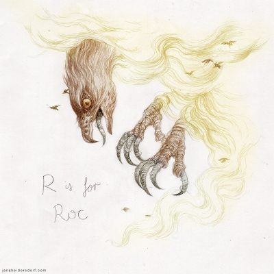 Птица Рух. Рисунок Яны Хейдерсдорф