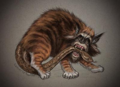 Нуэ. Иллюстрация Майка Гарви