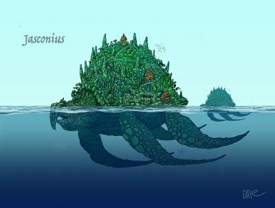 Ясконтий. Иллюстрация Стива Лилли