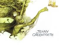 Дженни Зеленые Зубы. Иллюстрация Алана Ли
