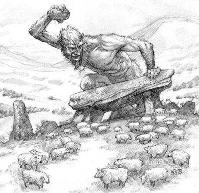 Хентиль. Рисунок Кристиана Пьера