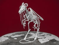 "Джерсийский дьявол. 3D-принт скелета от Брайана Ричардсона, ""Myhtic Articulations"""
