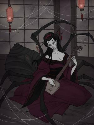 Дзёро-гумо. Иллюстрация Ксении Свинцовой