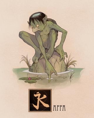 "Каппа. Иллюстрация Натана Андерсона (Nathan J. Anderson, ""Deimos-Remus"")"