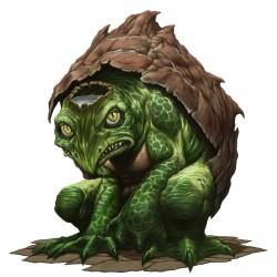 "Каппа. Иллюстрация Дэйва Олсопа к сеттингу ""Pathfinder"""