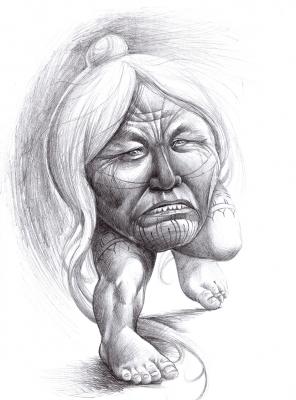 Катутаюк. Рисунок Майка Остина