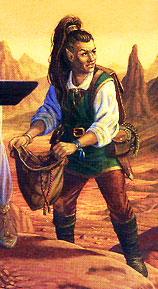 Кендер на картине Лари Элмора (Lary Elmore)