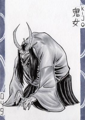 Кидзё. Иллюстрация Лукаса Перейры