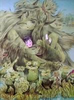 Кикимора и игоши. Иллюстрация Белоусовых к сказке Алексея Толстого