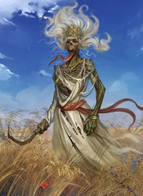 Полуденица. Иллюстрация Klaher Baklaher
