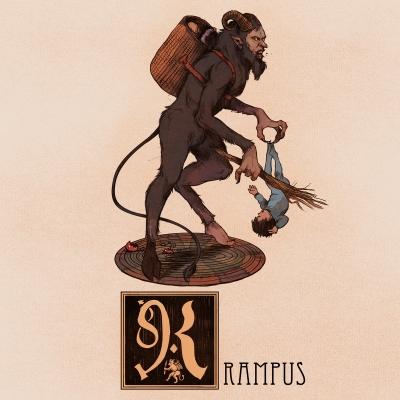 """Крампус. Иллюстрация Натана Андерсона (Nathan J. Anderson, """"Deimos-Remus"""")"""