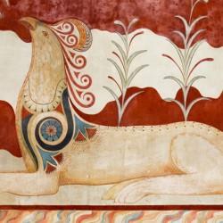 Критский грифон. Роспись Кносского дворца