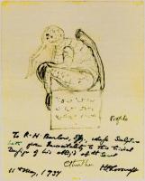 Ктулху. Набросок Лавкрафта (1934)