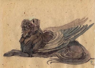 Курша. Рисунок Светланы Игнатовой