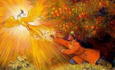 Жар-птица. Иллюстрация Николая Кочергина