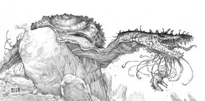 Лю-Каркуль. Рисунок Кристиана Пьера