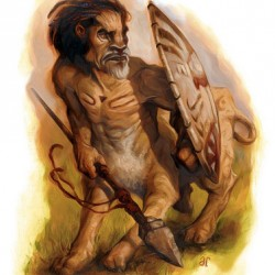 Вемик — леонтокентавр из бестиария AD&D