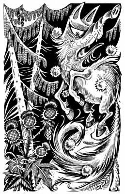 Лядащий. Рисунок Ольги Анциферовой