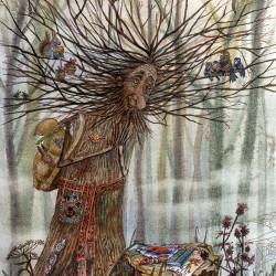 Леший. Иллюстрация Ларисы Рябининой