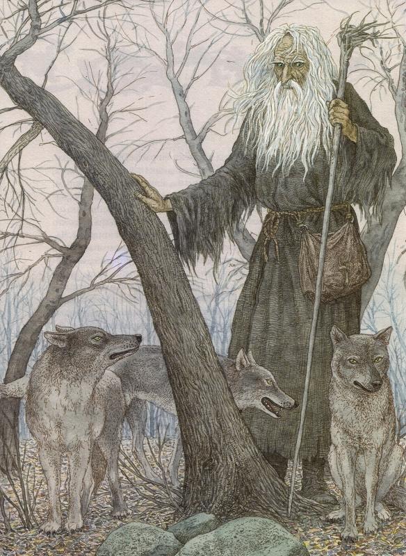 Лясун-Дабрахот. Иллюстрация Валерия Славука