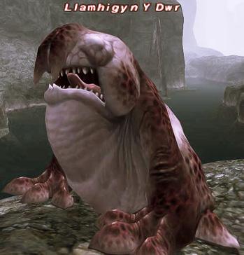 Llamhigyn Y Dwr из игры Final Fantasy XI
