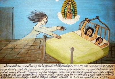 Ретабло Росы Марии Лопес за избавление от Ла Йороны, 2 ноября 1966 года