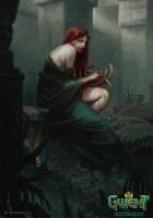 "Принцесса Адда. Иллюстрация Лоренцо Мастроянни к ККИ ""Gwent: The Witcher Card Game"""
