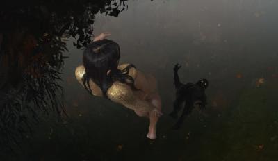 Свитезянка. Рисунок Лукаша Станеца
