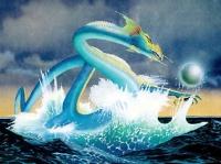 Asian Dragon. Картина Роджера Дина (Roger Dean)