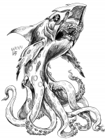 Луска. Рисунок Лоренцо Бонилла