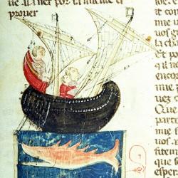Серра (Рукопись Моргановской библиотеки Manuscript. M.459, fol.18r)
