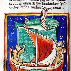 Серра (Рукопись Моргановской библиотеки в Нью-Йорке Manuscript. M.81, fol. 69v.)